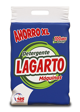 Lagarto detergent for machine washing clothes