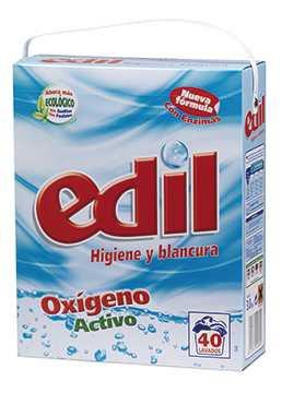 Edil oxiaction  powder detergent 40 washes