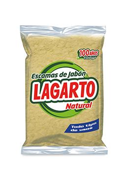 Escamas de Jabón Lagarto Natural 250g