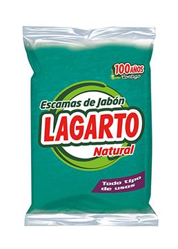 Lagarto natural green soap flakes