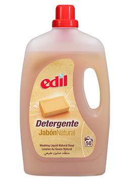 Detergente Edil Líquido al Jabón 40 Lavados