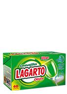 Lavavajillas Lagarto Clásico 40 Ud.
