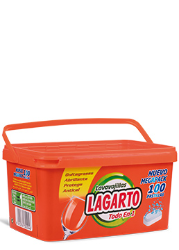 Lagarto dishwasher tablets all-in-one 100 u.