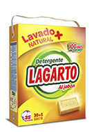 Lagarto detergent with soap
