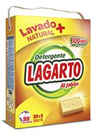 Detergente Lagarto al Jabón 35 Lavados