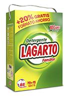 Detergente Lagarto Familiar 85 Lavados