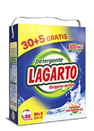 Lagarto oxiaction detergent