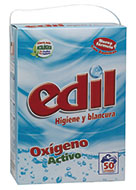 Edil oxiaction powder detergent 50 washes