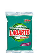 Lagarto natural green soap flakes