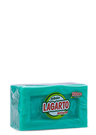 Lagarto natural green soap