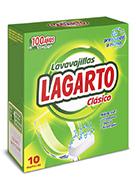 Lavavajillas Lagarto Clásico 10 Ud.