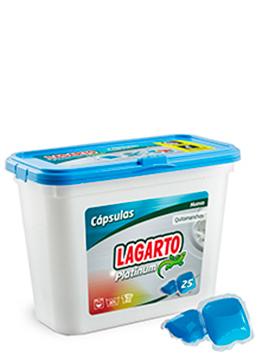 Cápsulas Lagarto Platinum Lavadora
