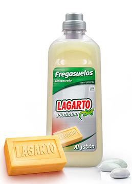 Fregasuelos Lagarto Platinum Concentrado al Jabón