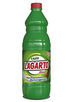 Lagarto bleach with detergent pine-scented