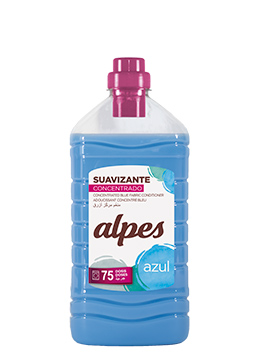 Alpes concentrated blue fabric softener