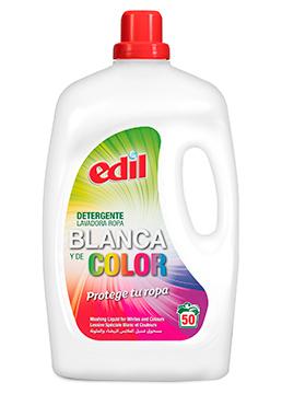 (Español) Detergente Edil Líquido Ropa Blanca y Color 40 Lavados