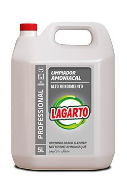 Limpiador Amoniacal Lagarto Professional Alto Rendimiento