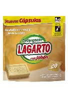 Detergente en Cápsulas Lagarto con jabón