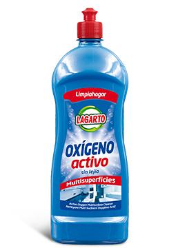 Limpiador Lagarto Multisuperficies Oxigeno Activo