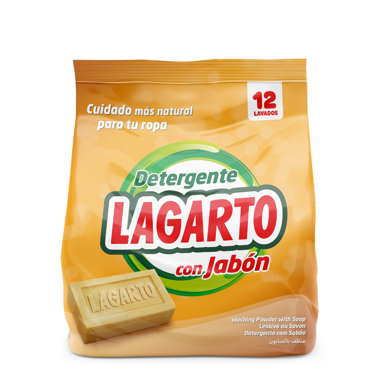 Lagarto detergent With Soap Eco-pack